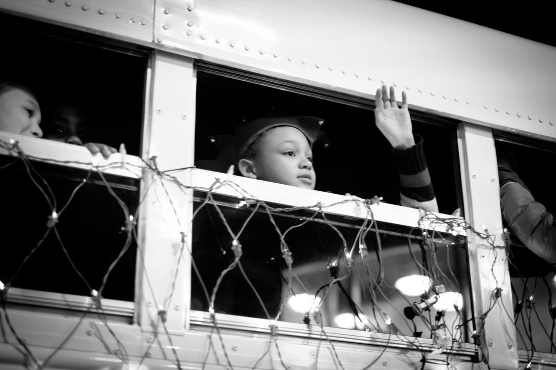 School Bus Window