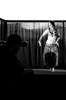 Shooting a Belly Dancer
