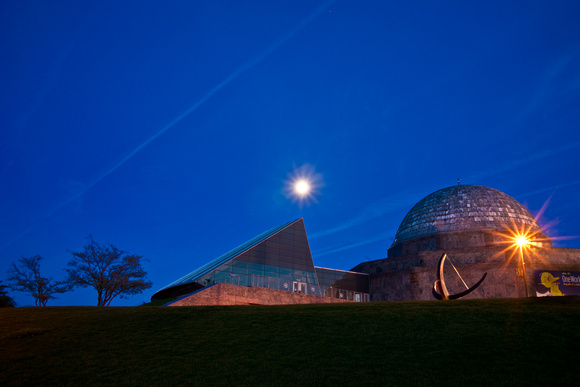 Adler Planetarium in Chicago